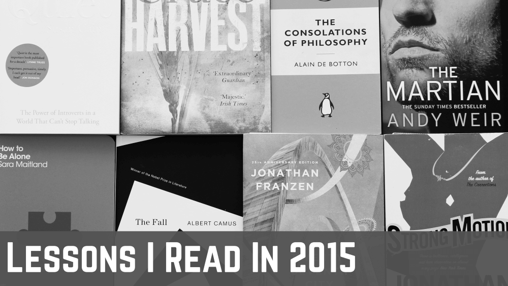 Lessons learned from books I read in 2015