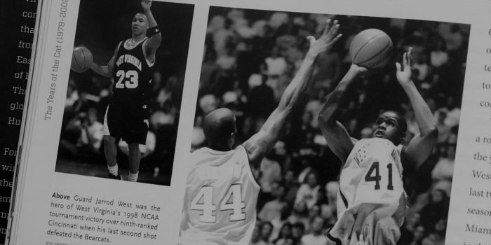 Jarrod West 1998 NCAA Basketball Tournament West Virginia WVU Cincinnati Upset